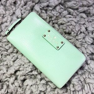 Kate Spade Mint Green Wallet